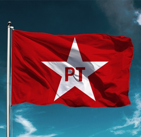 Bandeira PT - Grande