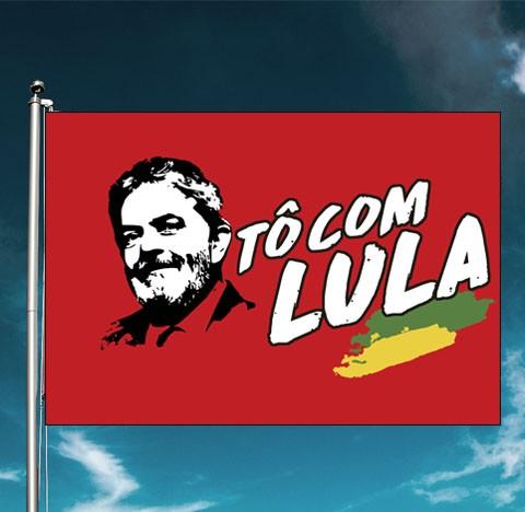 Bandeira to com Lula