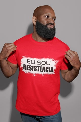 Camiseta sou Resistência